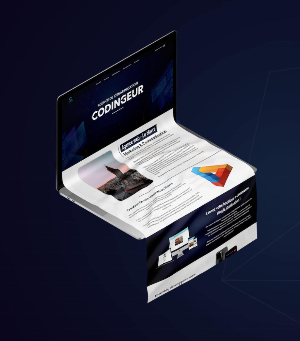 Agence web boutique en ligne Chambery