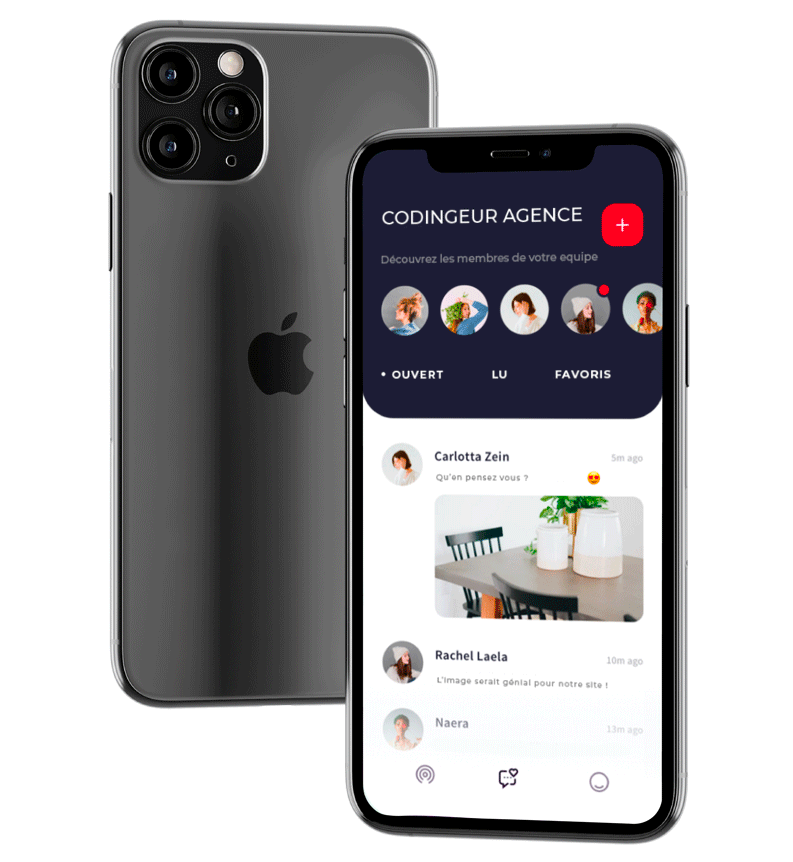 agence création application mobile Limoges