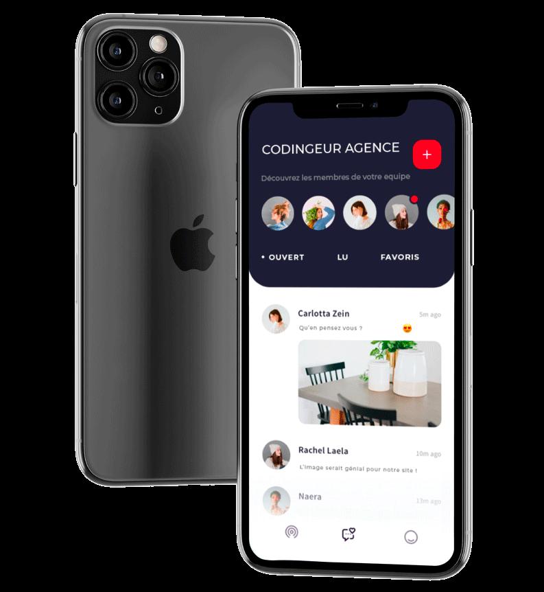 agence création application mobile Villeurbanne