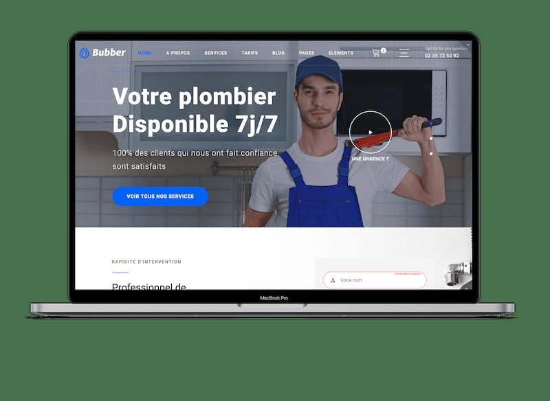 Création de site professionnel à cherbourg-en-cotentin