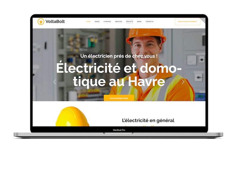 Création de site web à le-mans
