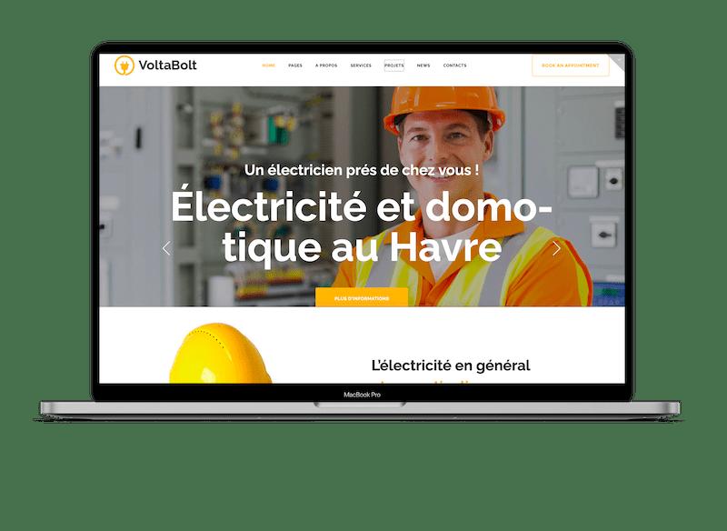 Création de site web à tours