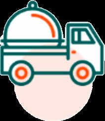 icone livraison site restaurant