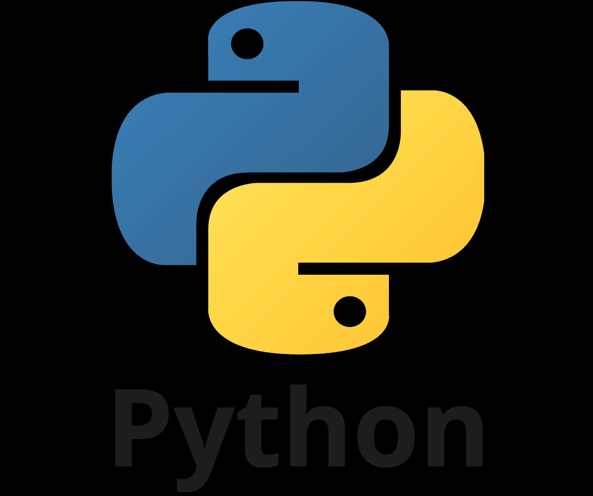 Création application python
