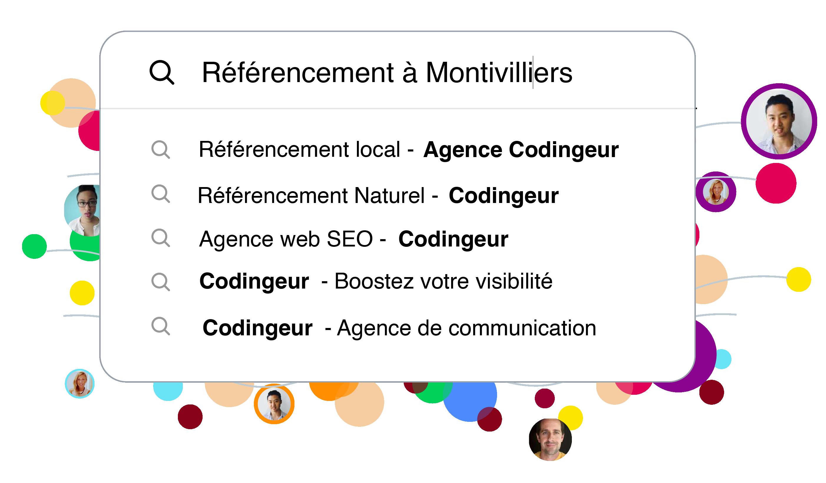 recherche google agence digital montivilliers