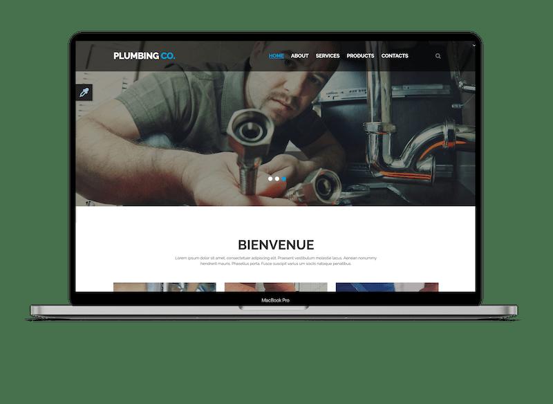 site internet plombier